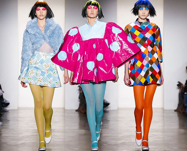 Jeremy Scott's Collection From New York Fashion Week