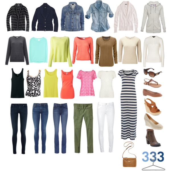 How To Build A Capsule Wardrobe - Project 333