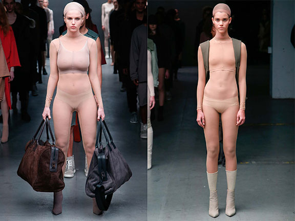 Kanye West New Collection - At NY Fashion Week